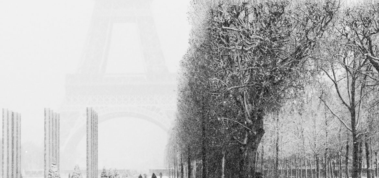 De la neige à Paris