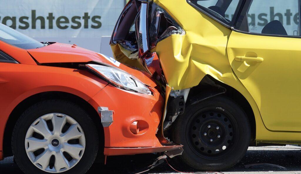Un accident de voiture
