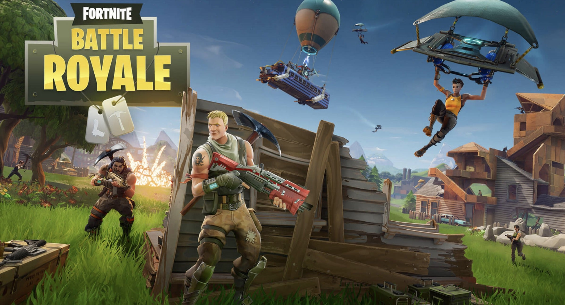Fortnite en mode Battle Royale