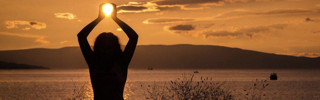Le yoga et le soleil