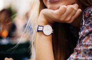 Une montre pour femme