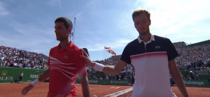 Djokovic à Monte Carlo