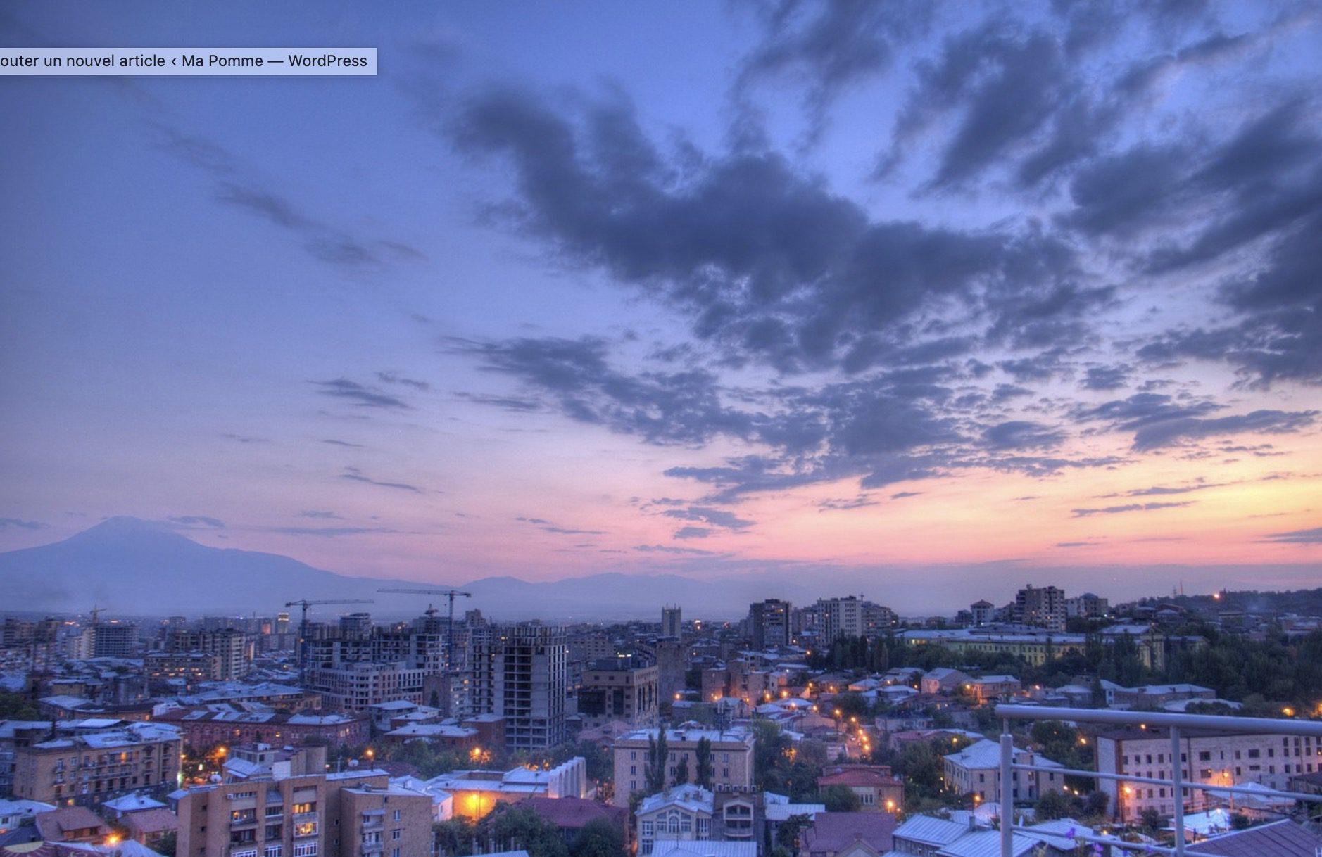 Yerevan en Arménie