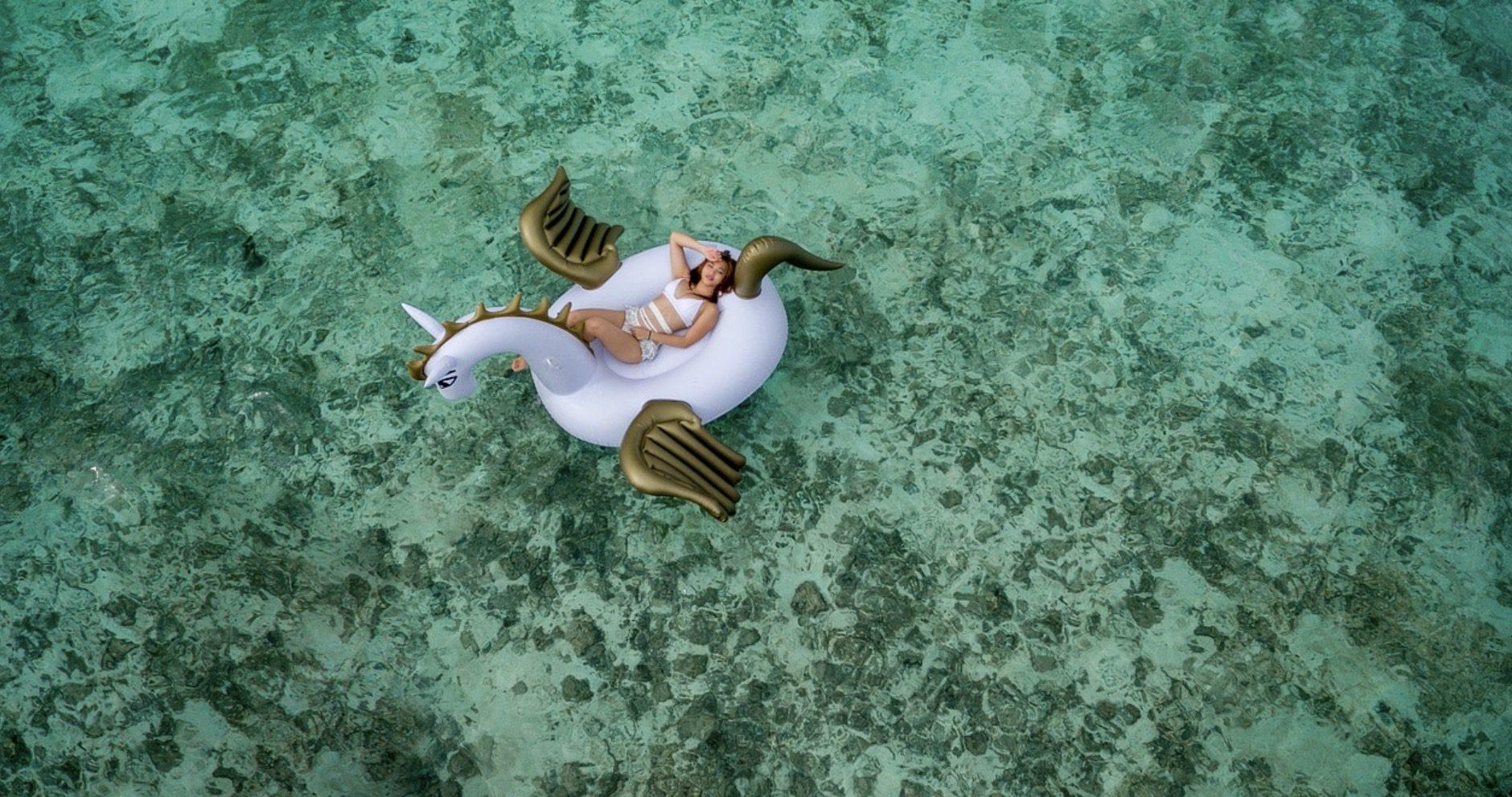 Bouée de piscine ou de plage