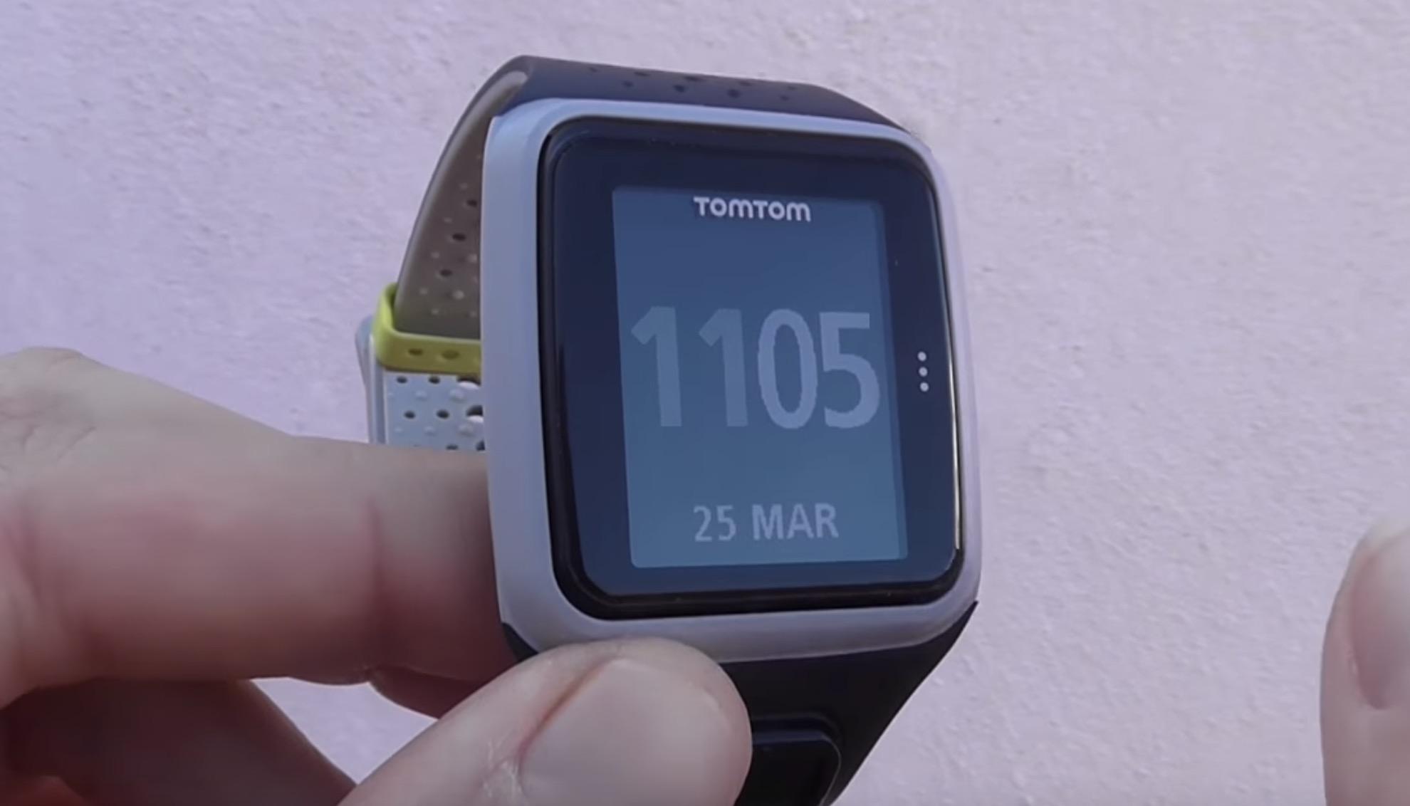 La TomTom Runner GPS