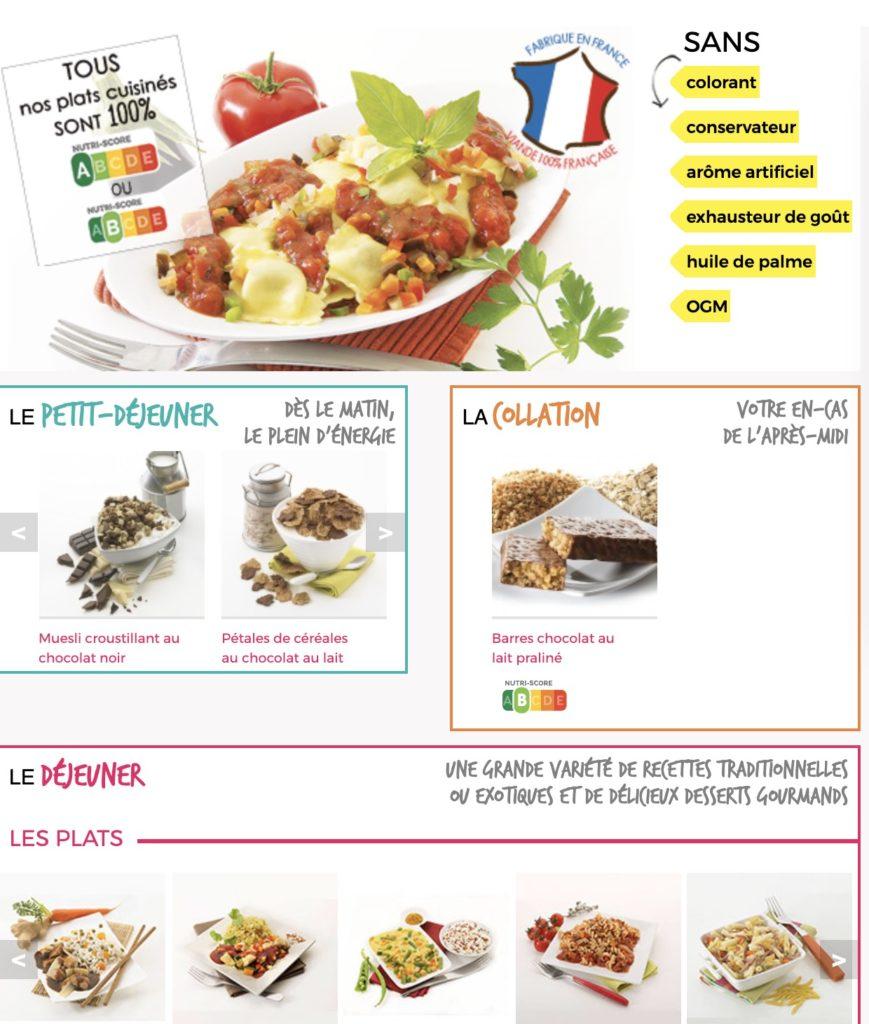 Les menus de Comme J'aime
