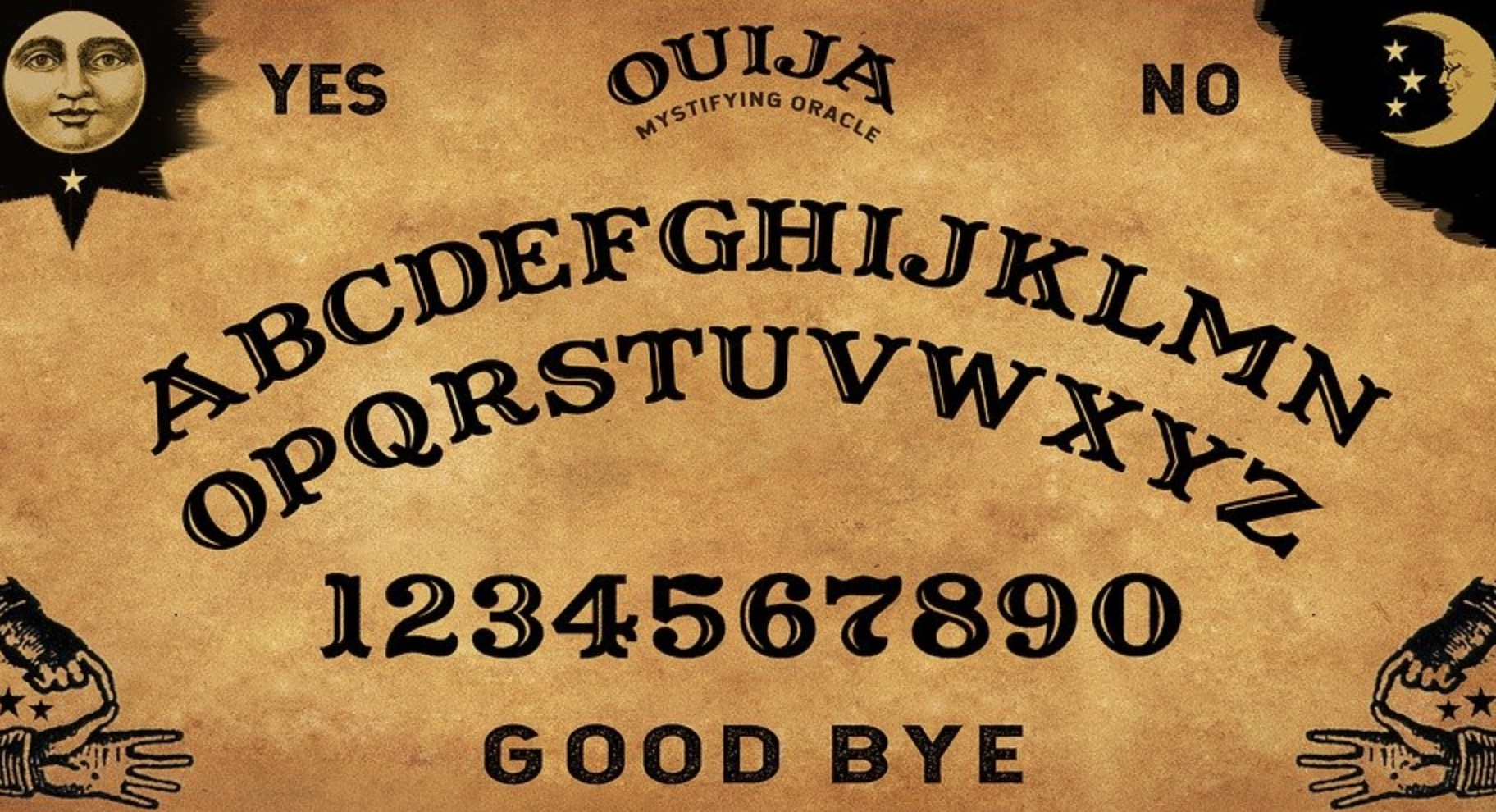 la planche Ouija
