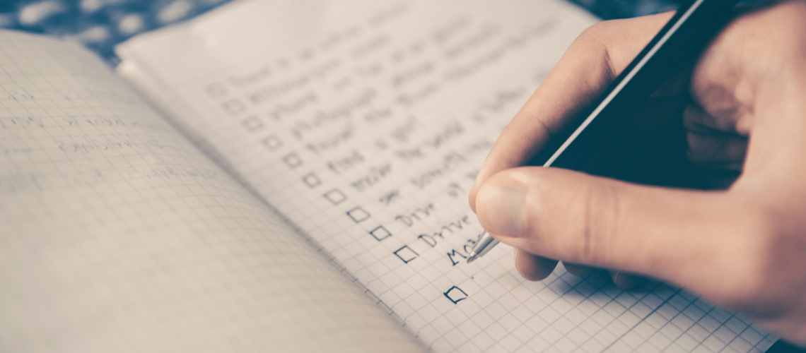 Checklist pour préparer ses vacances