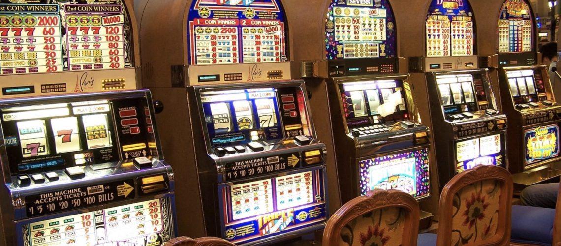 Les machines à sous au casino