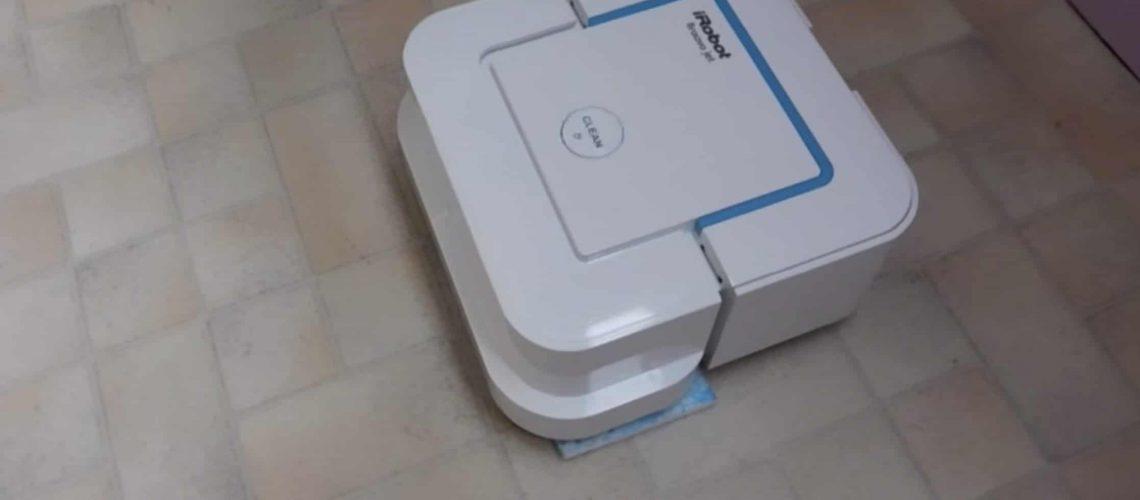 L'iRobot lave vos sols